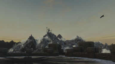 Winterhold - Arch Mage View