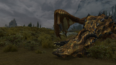Dragon Defeated At The West Tower