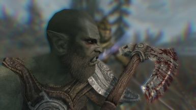 Orc In Battle