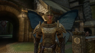 Lydia In Heavy Armor