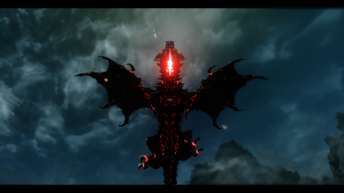 Glowing Alduin