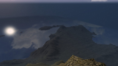 Highest Point On Red Mountain looking at Telvanni Islands