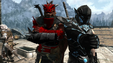 The Flamevell Dracon And The Ebony Wolf