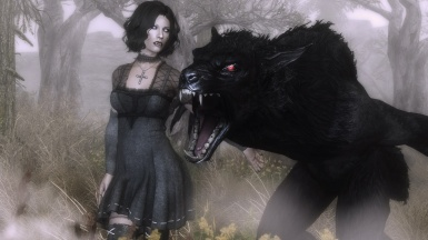 A girl and her werewolf