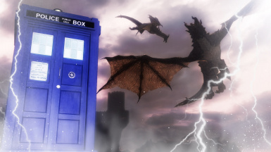 Dr Who and the Dragons of Skyrim