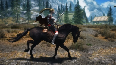 HDT Hair Cape and Horse