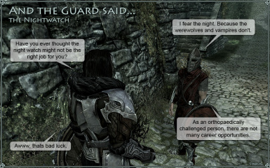And the Guard said - The Nightwatch