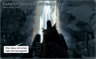 Famous Quotes - Skyrim Style 1
