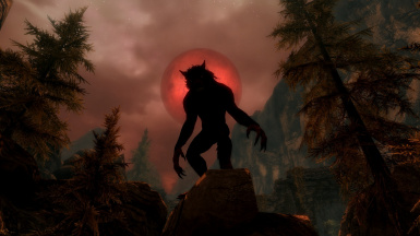 Red Werewolf
