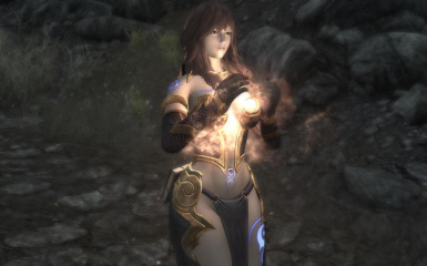 Witch Of The Wild Light Armor