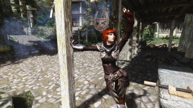Heilina with Elven Rogue Armour