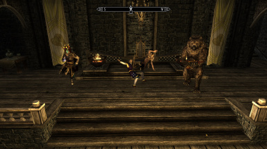 Whiterun Court Dance Party