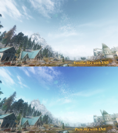 PureSkies for ENB