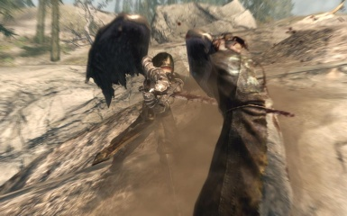 Trying to run from the Dragonborn