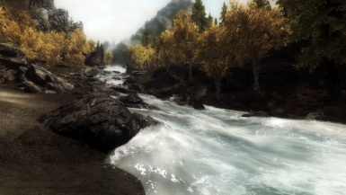 Darkwater River on the way to Ivarstead