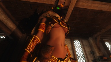 The Boss Lady in Sexy Anubis Armor