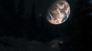 Earth Rise over Riverwood
