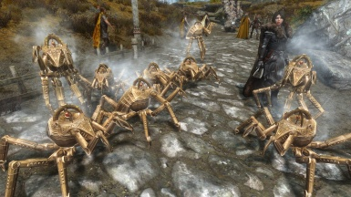 Squad of Dwarven Spiders