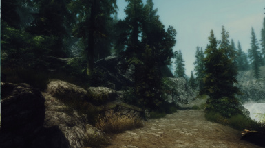 On the road to Helgen 03