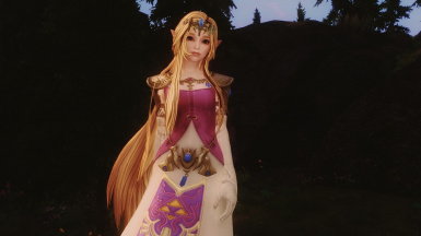 Zelda with HDT Hair 02