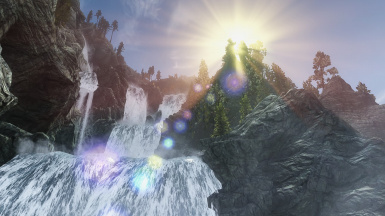Waterfall with Realvision