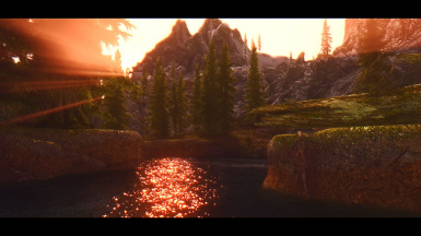 Sunset in RiverWood