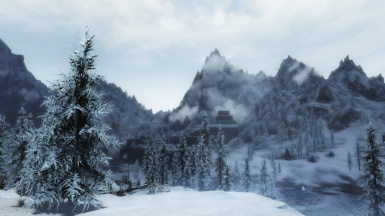 Clear Skies at Windhelm
