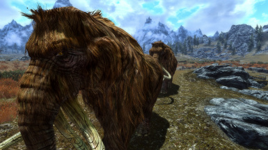 Mammoth in the wilds