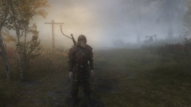 Scenes of Skyrim The fog