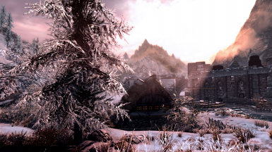 Warm and Frosty Windhelm