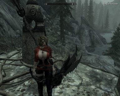 Nord Warrioress at The Guardian Stones