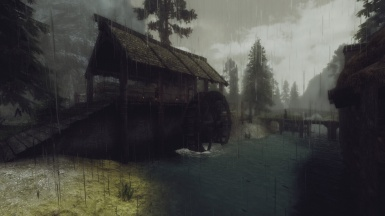Its either sunny or rainy in Riverwood