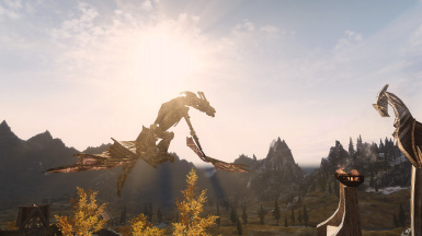 Dwemer Mechanical Dragon in Whiterun