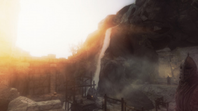 sunrise on the mine