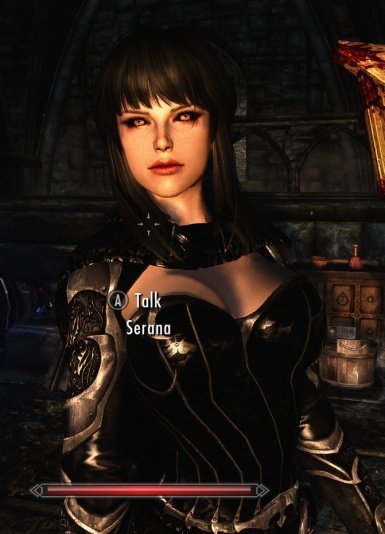 Serana with Lustmord Armor