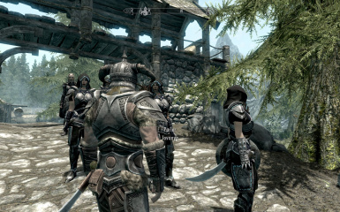 bodyguards with other armor