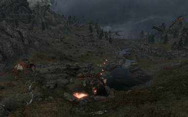 Plains can be dangerous for a solitary rider
