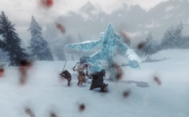 ice elemental fight