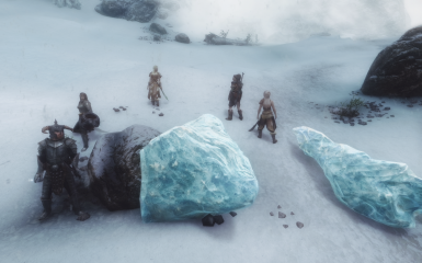ice elemental defeated
