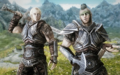 aMidianBorn NEW Steel Armor Retexture - Preview