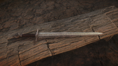 A mash up and retextured sword
