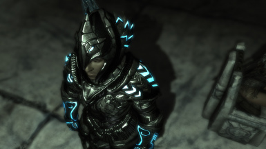 Extreme Skyrim Graphics -- Eternal Shine Armor
