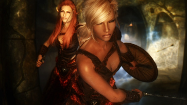 Tauriel and Michelle in Action