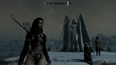 Angeline at the Temple of Meridia