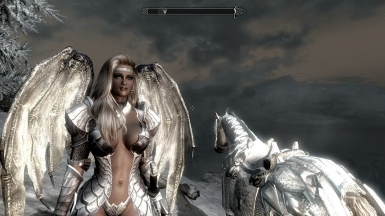 Angeline outside Dimhollow Crypt