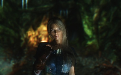 Ena in cave - K ENB Extended