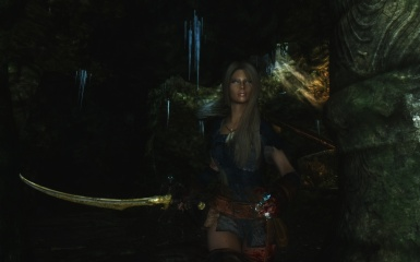 Ena in cave 2 - K ENB Extended