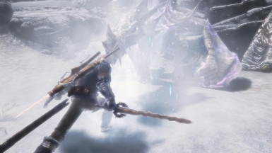 Frost Dragon Battle Close Up
