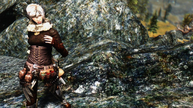 Irish Hawkes With Elven Rogue Armor