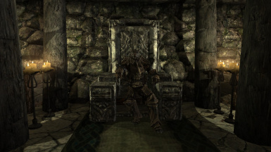 In the throne of accomplishment